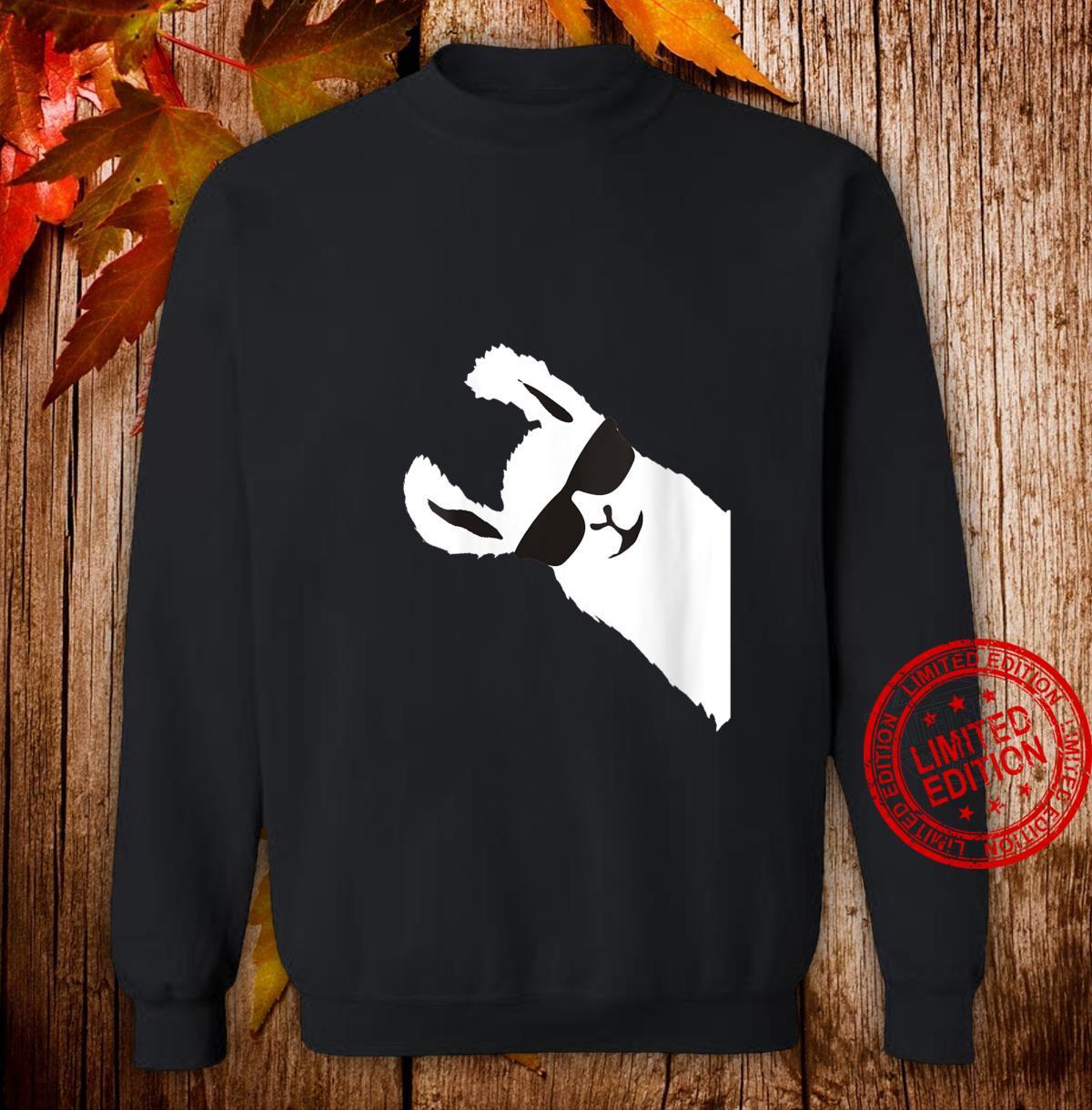 Womens LLAMA ALPACA Shirt sweater