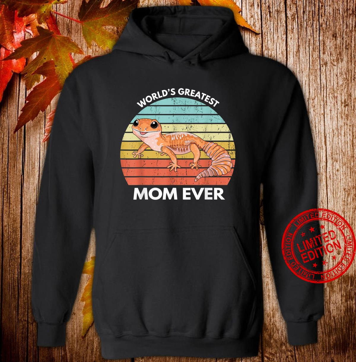 World's Greatest Gecko Mom Ever Leopard Gecko Shirt hoodie