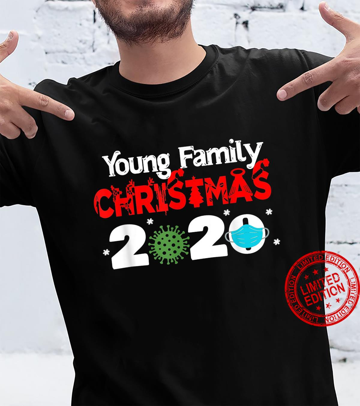 Young Family Christmas 2020 Matching Family Name Novelty Shirt